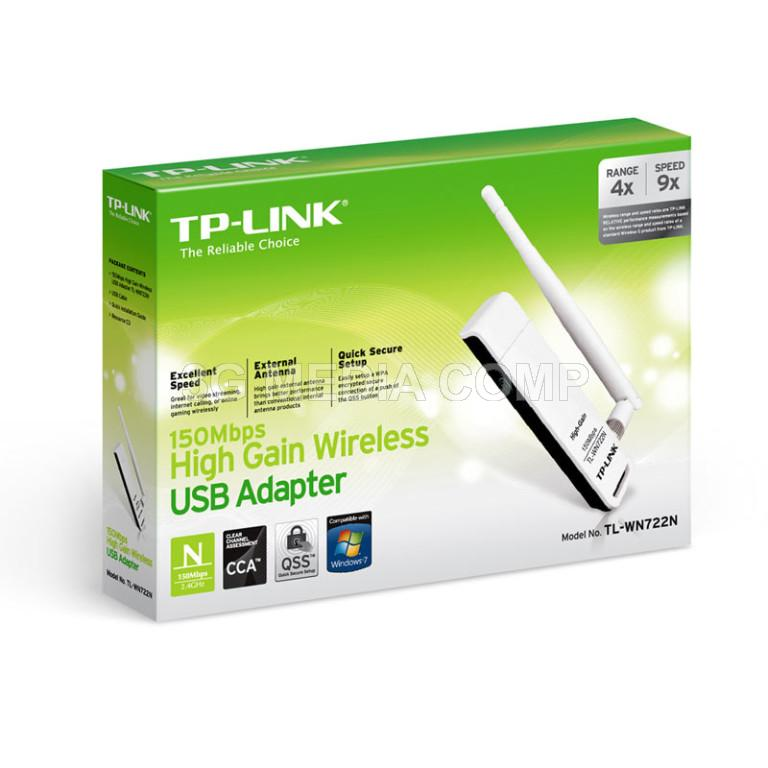 TPLink TL-WN722N USB Wifi 150Mbps High Gain